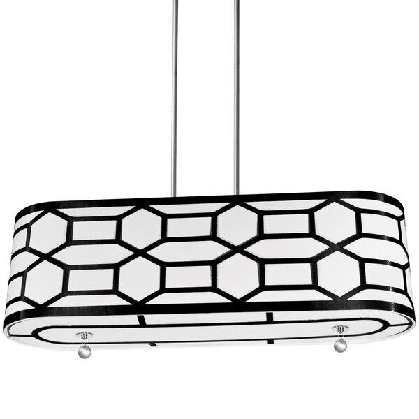 Francene 4-Light Drum Chandelier by Willa Arlo Interiors