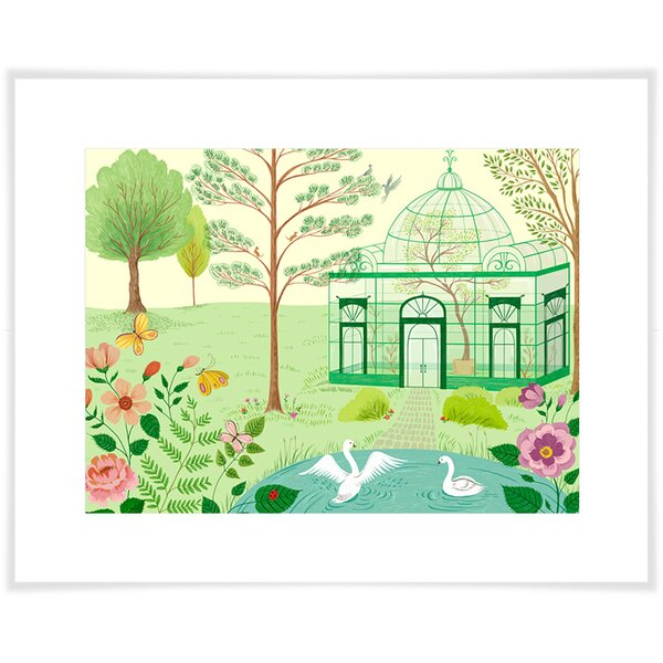 Ashlea Conservatory Paper Print by Harriet Bee