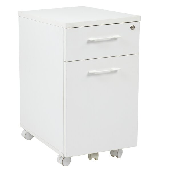 Sharniece 2 Drawer Mobile File by Latitude Run