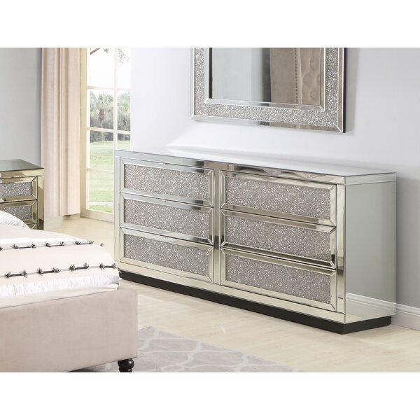 Tennessee 6 Drawer Dresser by Rosdorf Park