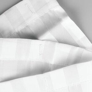 Satin Stripe Shower Curtain