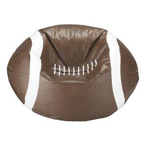 Kierra Football Bean Bag Chair by Viv + Rae