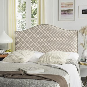 Carol Queen Upholstered Panel Headboard by Alcott Hill