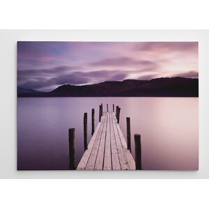 Brandelhow Bay Jetty, Derwentwater by Danita Delimont Photographic Print on Wrapped Canvas by Wexford Home