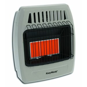 Kozy World 18,000 BTU Infrared Liquid Propane Gas Wall Heater