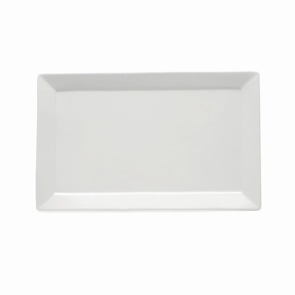 White Basics Platter by Maxwell & Williams