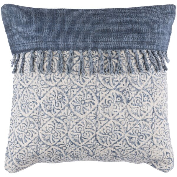 Friedman Square Cotton Throw Pillow by Mistana