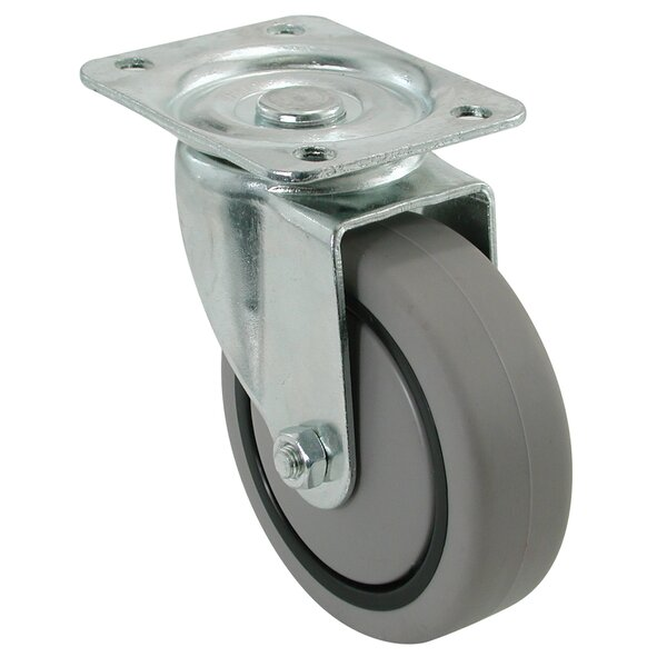 Swivel Plate Caster by Shepherd
