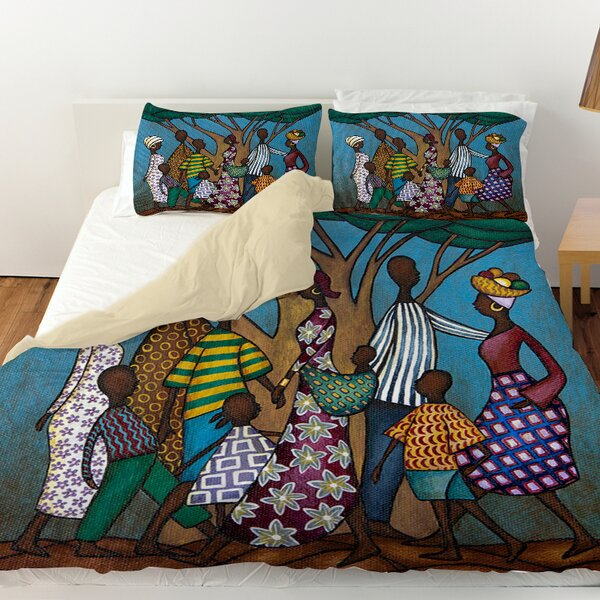 Family Tree Duvet Cover by Manual Woodworkers & Weavers