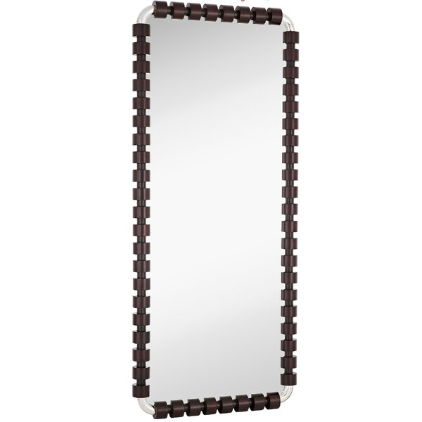 Stylish Glass Wall Mirror by Majestic Mirror