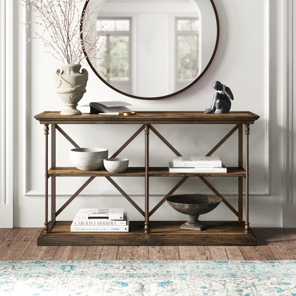 Kelly Clarkson Home Brown Console Tables