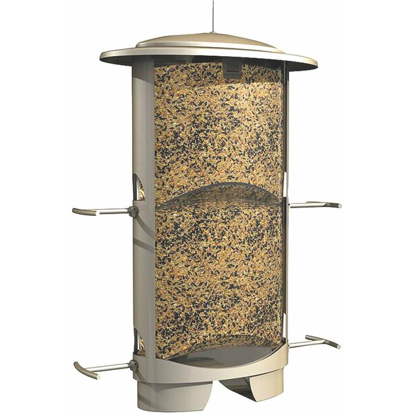 Squirrel X-1 Squirrel Proof Tube Bird Feeder by Cl