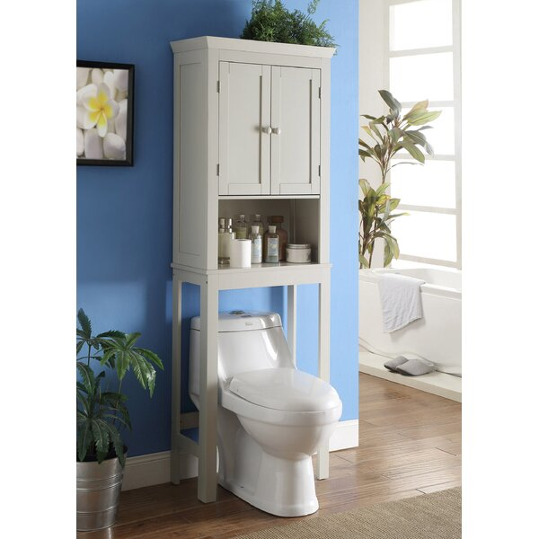 Henri Bathroom Space Saver 23.6 W x 66.75 H Over the Toilet Storage by The Twillery Co.