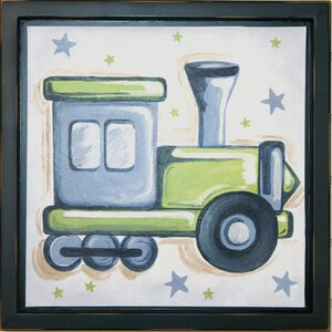Train Deco Framed Art by Renditions by Reesa
