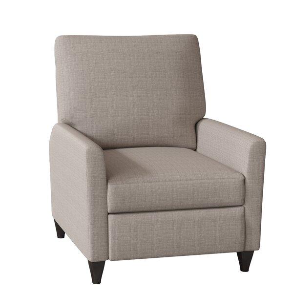 Harrison High Leg Manual Recliner By Wayfair Custom Upholstery™
