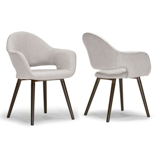 Adel Upholstered Dining Chair (Set of 2) by Glamour Home Decor