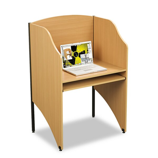 Deluxe Wood 48 Study Carrel by Balt