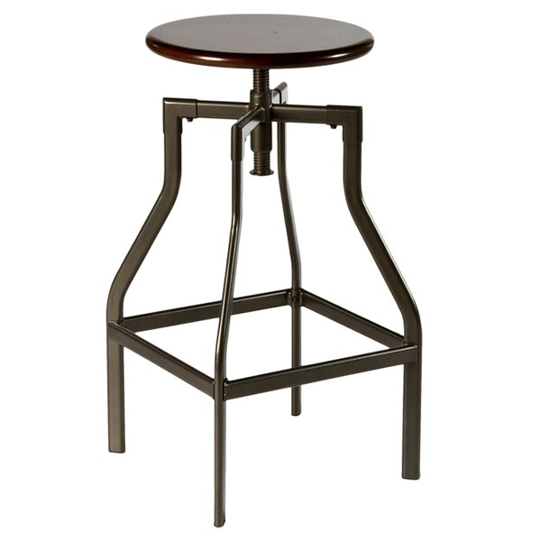 Cyprus Adjustable Height Swivel Bar Stool by Hillsdale Furniture