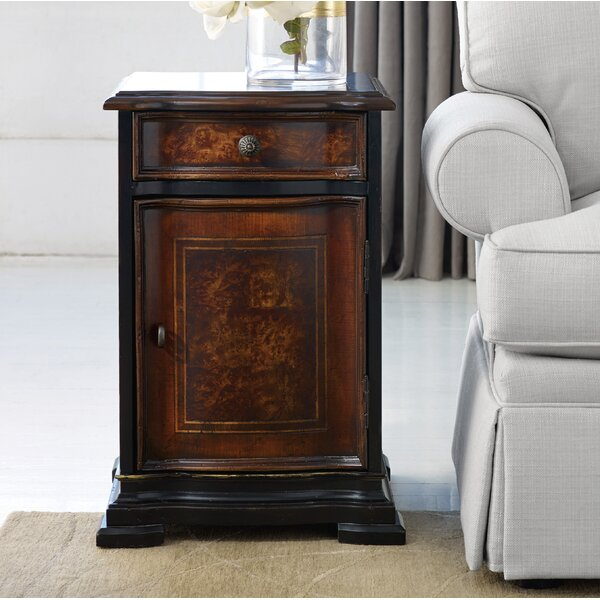 Grandover End Table with Storage by Hooker Furniture