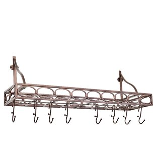 Find for Bookshelf Horizontal Pot Rack By Old Dutch International