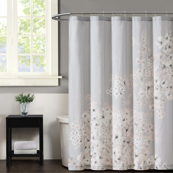 Esti Floral Shower Curtain by Vince Camuto