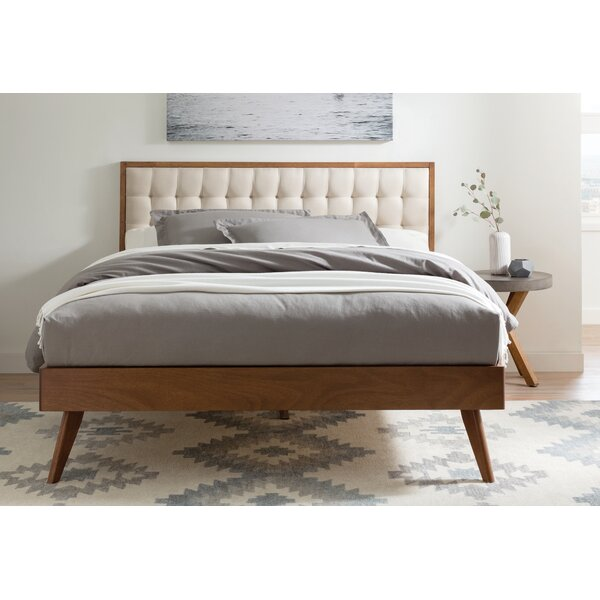 Abril Queen Upholstered Platform Bed by Corrigan Studio