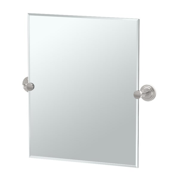 Marina Rectangle Bathroom Wall Mirror by Gatco