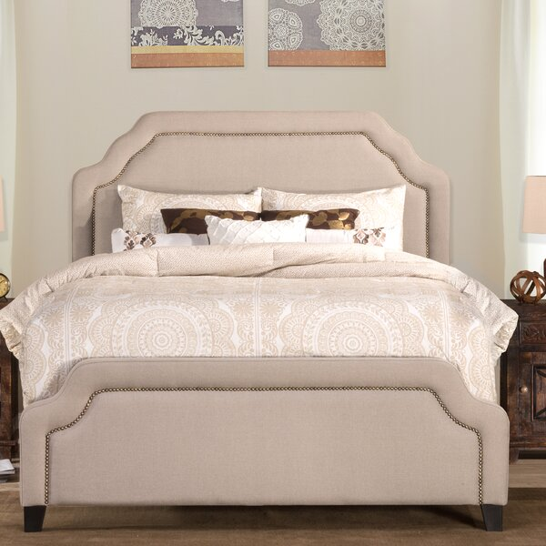 Danton Upholstered Standard Bed by Darby Home Co