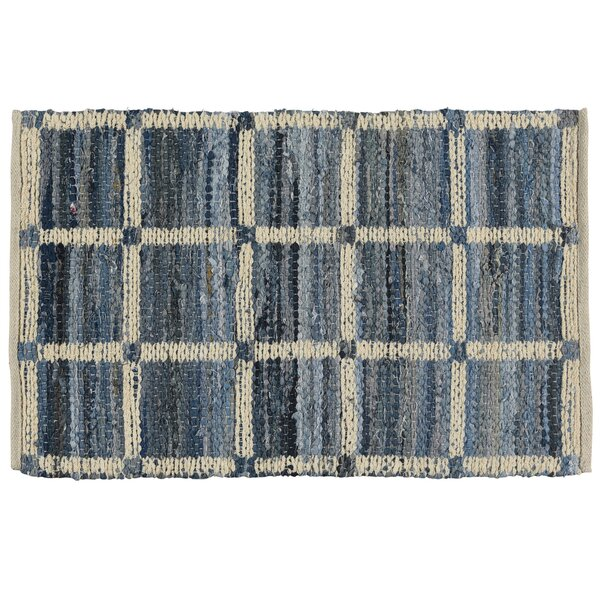 Bellaire Cotton Blue Indoor/Outdoor Area Rug by August Grove
