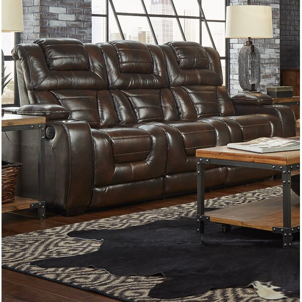 Heiner Home Theater Sofa by Alcott Hill