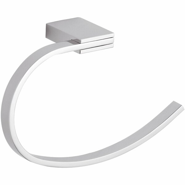 Wire Square Towel Ring by AGM Home Store
