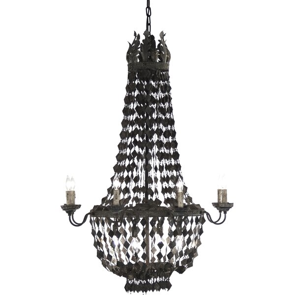 Nicia 4-Light Candle Style Empire Chandelier By Zentique