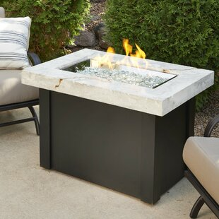 Providence Metal Gas Fire Pit Table By The Outdoor GreatRoom Company