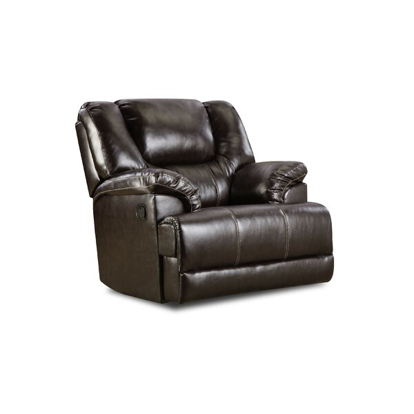 Starr Manual Recliner by Simmons Upholstery by Darby Home Co