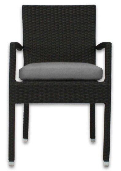 Skye Stacking Patio Dining Chair With Cushion By Patio Heaven