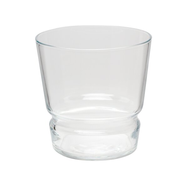 Tietz Double Old Fashioned 12 oz. Every Day Glass (Set of 4) by Orren Ellis