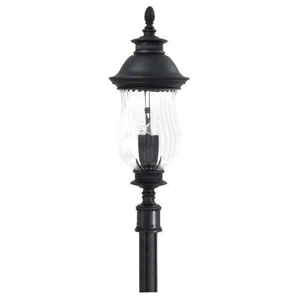 Newport Outdoor 4-Light Lantern Head by Great Outdoors by Minka