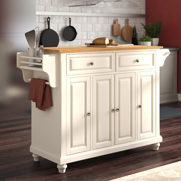 Goreville Kitchen Island by Three Posts