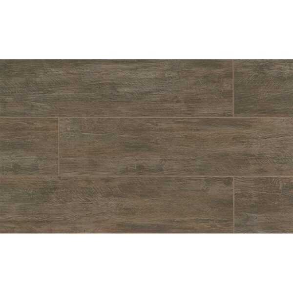 Santa Monica 8 x 36 Porcelain Wood Tile in Pier by Grayson Martin