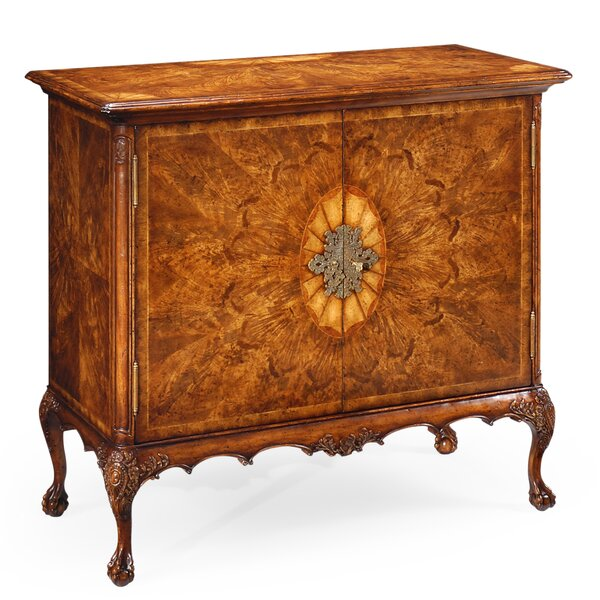 Windsor Flaming 2 Door Accent Cabinet by Jonathan Charles Fine Furniture