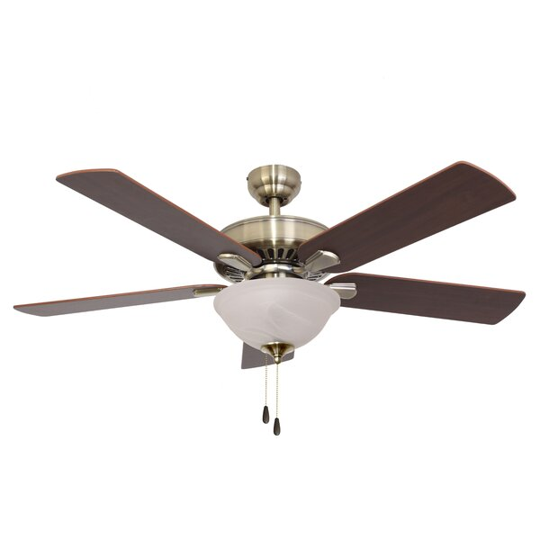 52 Bartlett Bowl Light 5-Blade Ceiling Fan by Calcutta