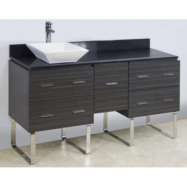 60 Single Modern Bathroom Vanity Set by American Imaginations