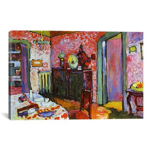 Interior My Dining Room By Wassily Kandinsky Painting Print On Canvas