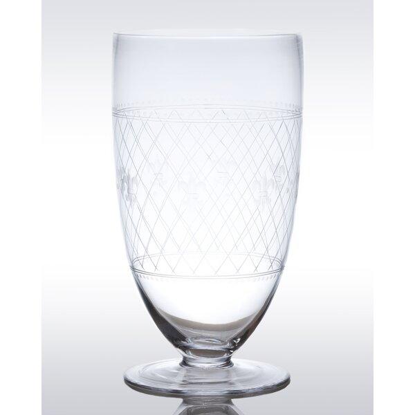 Classic Glass Hurricane by Abigails