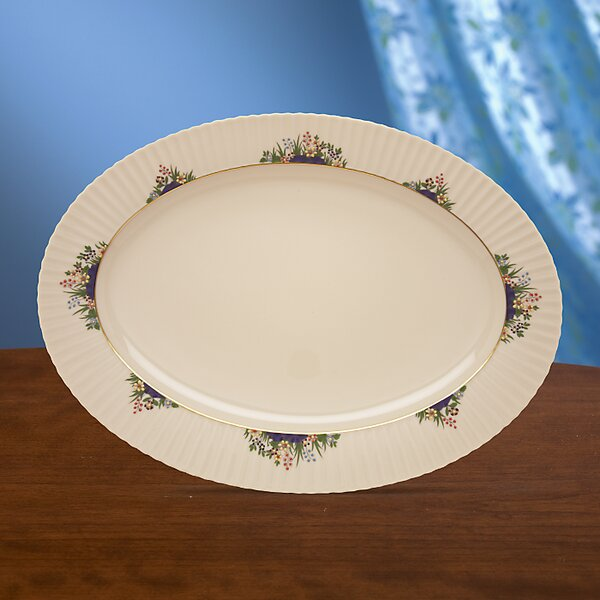 Rutledge Oval Platter by Lenox