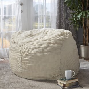 Cotton Bean Bag Chair by Red Barrel Studio