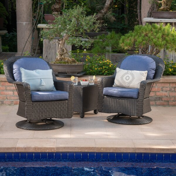 3 Piece Conversation Set with Cushions by Birch Lane™