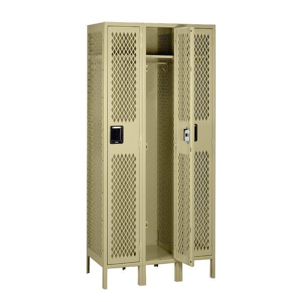 1 Tier 3 Wide Gym and Locker Room Locker by Tennsco Corp.