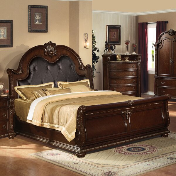 Linder Upholstered Sleigh Bed by Astoria Grand