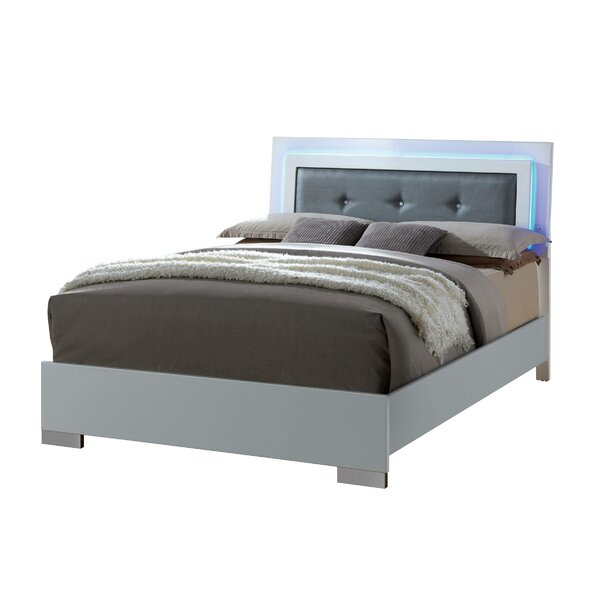 Riddick Upholstered Platform Bed by Orren Ellis